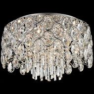 Lite Source EL-50109 Cashlin Chrome Finish 19  Wide Halogen Ceiling Lighting