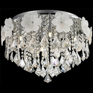 Lite Source EL-50113 Daisy II Chrome Finish 16  Tall Halogen Ceiling Light