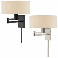 Lite Source LS-16355 Landon Contemporary 14  Wide Beside Lamp