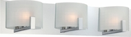 Lite Source LS-16363 Waldron Modern Chrome Finish 29  Wide Halogen Bathroom Lighting