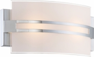 Lite Source LS-16573 Galena Modern Chrome LED Bath Light Fixture