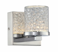 Lite Source LS-16581 Kristen Chrome LED Light Sconce