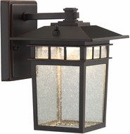 Lite Source LS-16717 Raiden Dark Bronze LED Exterior Lighting Wall Sconce