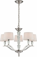 Lite Source LS-19315 Saveria Modern Chrome Chandelier Light