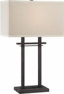 Lite Source LS-22384 Leverett Aged Bronze Finish 25.5  Tall Table Light