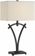 Lite Source LS-22402 Madeleine Dark Bronze Finish 29  Tall Table Light
