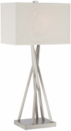 Lite Source LS-22453 Frasco Contemporary Polished Steel Finish 30  Tall Table Light