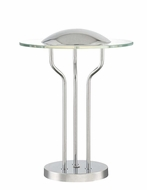 Lite Source LS-22478 Domani Modern Chrome LED Table Lighting