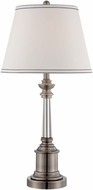 Lite Source LS-22528 Gael Gun Metal Finish 30.5  Tall Table Lighting