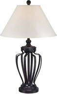 Lite Source LS-22557 Rigoberto Dark Bronze Finish 31.5  Tall Table Lighting
