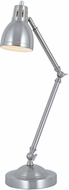 Lite Source LS-22595PS Haley Contemporary Polished Steel Desk Lamp