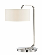 Lite Source LS-22642 Mea Modern Chrome Halogen Table Lamp Lighting