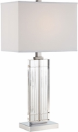 Lite Source LS-22702 Chrome Fluorescent Table Lamp
