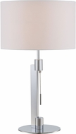 Lite Source LS-22735 Catriona Contemporary Chrome Lighting Table Lamp