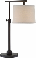 Lite Source LS-22786 Pardes Dark Brown Fluorescent Lighting Table Lamp