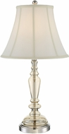 Lite Source LS-22831 Avaline Polished Steel Fluorescent Table Top Lamp
