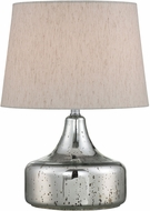 Lite Source LS-22872 Chrome Fluorescent Table Top Lamp
