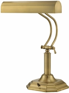 Lite Source LS-398AB Piano Mate Traditional Antique Brass Finish 12  Wide Reading Lamp