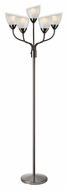 Lite Source LS-82117 Elitia Modern Gun Metal Finish 70  Tall Light Floor Lamp