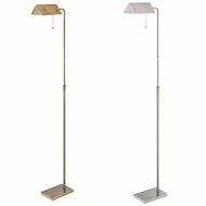 Lite Source LS-82341 Wayland Contemporary 14  Wide Pharmacy Floor Lamp