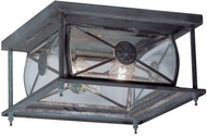 Livex 2090-61 Providence Traditional Charcoal Outdoor Ceiling Light Fixture
