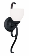 Livex 4761-04 Brookside Black Wall Lamp