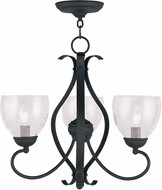 Livex 4807-04 Brookside Black Mini Chandelier Lighting