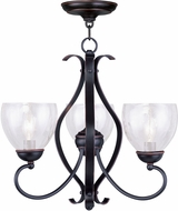 Livex 4807-67 Brookside Olde Bronze Mini Lighting Chandelier