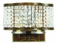 Livex 50568-64 Grammercy Hand Painted Palacial Bronze Sconce Lighting