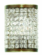 Livex 50571-64 Grammercy Hand Painted Palacial Bronze Lamp Sconce