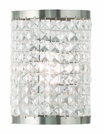 Livex 50571-91 Grammercy Brushed Nickel Wall Sconce Lighting