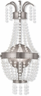 Livex 51872-91 Valentina Brushed Nickel ADA Wall Light Fixture