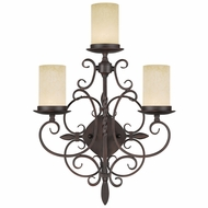 Livex 5482-58 Millburn Manor Imperial Bronze Wall Lighting Fixture