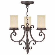 Livex 5483-58 Millburn Manor Imperial Bronze Mini Chandelier Light