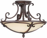 Livex 5484-58 Millburn Manor Imperial Bronze Ceiling Light