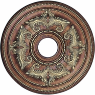 Livex 8200-64 Traditional Palacial Bronze with Gilded Accents 22.5 Medallion