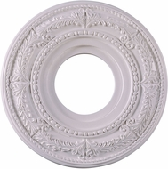Livex 8204-03 Traditional White 12 Ceiling Medallion