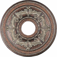 Livex 8205-64 Traditional Palacial Bronze with Gilded Accents 18 Medallion