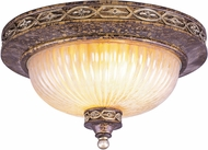 Livex 8543-64 Seville Traditional Palacial Bronze with Gilded Accents 15  Home Ceiling Lighting