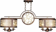 Livex 8672-64 Avalon Palacial Bronze with Gilded Accents Kitchen Island Light Fixture