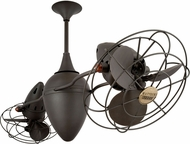 Matthews AR-BZ-MTL Ar Ruthiane Modern Bronze 48  Rotational Ceiling Fan with Metal Blades