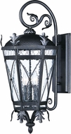 Maxim 20456CDAT Canterbury DC Traditional Artesian Bronze Exterior Lighting Sconce