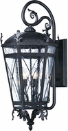 Maxim 20457CDAT Canterbury DC Traditional Artesian Bronze Outdoor Lamp Sconce