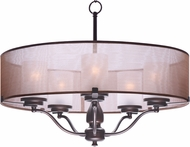 Maxim 24555TSOI Lucid Oil Rubbed Bronze Drum Lighting Pendant