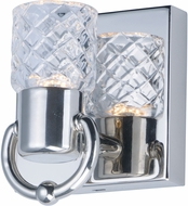 Maxim 24701CLPN Crystol Polished Nickel LED Wall Lighting Sconce