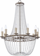 Maxim 26008ATR Gisele Traditional Antique Terra Hanging Chandelier