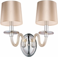 Maxim 27542CGPN Venezia Polished Nickel Sconce Lighting