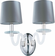 Maxim 27542FTPN Venezia Polished Nickel Lighting Sconce