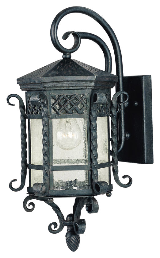 Maxim 30123CDCF Scottsdale Mediterranean Country Forge 21 Tall Outdoor