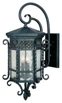 Maxim 30125CDCF Scottsdale Mediterranean Country Forge 28 Tall Outdoor